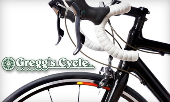 Gregg's Cycle - Multiple Locations: $37 for a Minor Bicycle Tune-up at Gregg's Cycle ($75 Value)