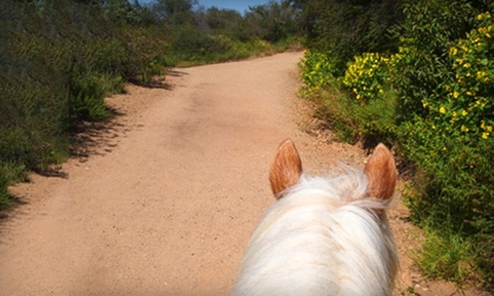 Will Rogers Trail Rides - Los Angeles: $55 for One-Hour Guided Horseback Trail Ride for Two at Will Rogers Trail Rides in Pacific Palisades ($110 Value)