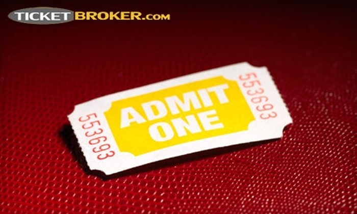 Ticketbroker.com: $10 for $20 Toward Tickets for Concerts, Sports, and More from Ticketbroker.com