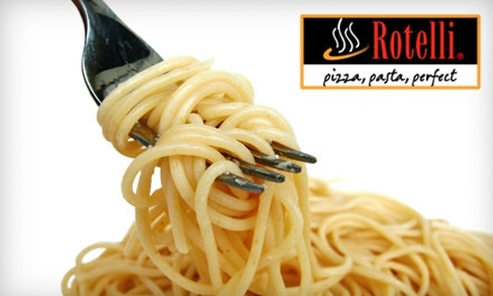 Rotelli - Olde Providence South: $15 for $30 Worth of Italian Cuisine at Rotelli