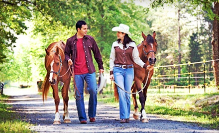 Group Trail Ride for 2 (a $100 value) - Rocking M Ranch in Savannah