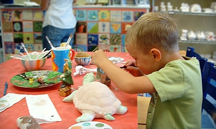 Hands On Pottery - Darien: $10 for $20 Worth of Paint-Your-Own Pottery at Hands On Pottery in Darien