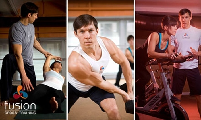Fusion Cross-Training - Multiple Locations: $45 for a One-Month Membership at Fusion Cross-Training ($119 Value)