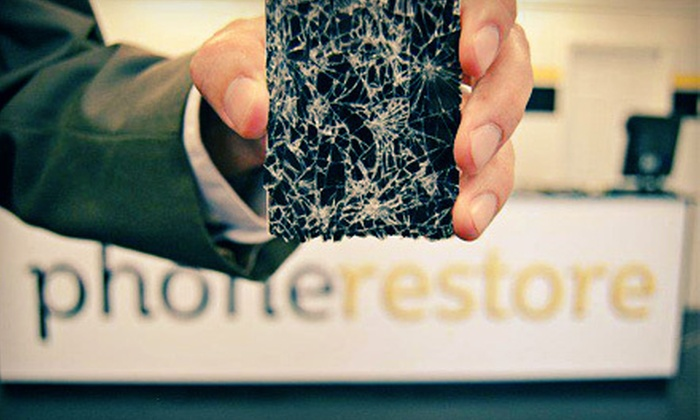 Phone Restore - University: Mobile-Device Repairs and Accessories at Phone Restore in Provo (Up to 53% Off). Six Options Available.