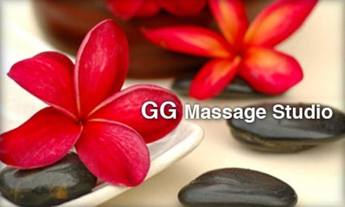 GG Massage Studio - Central Business District: $60 for a Hot-Stone Massage at GG Massage Studio