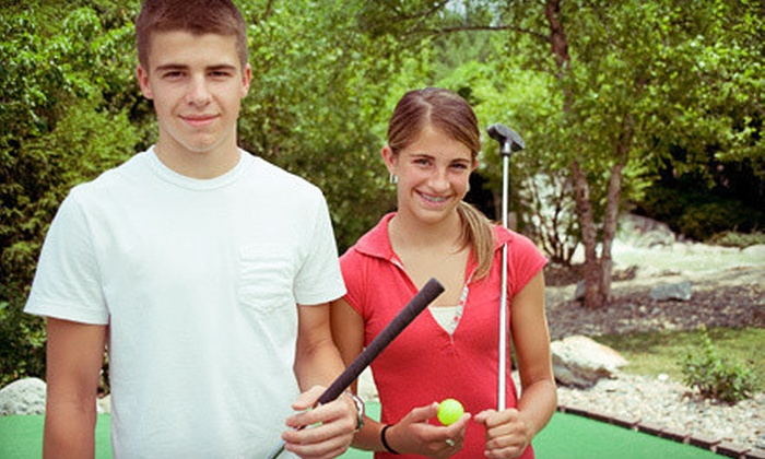 Kelowna Springs Golf Club - Kelowna: $13 for an 18-Hole Putting-Course Outing for Two at Kelowna Springs Golf Club (Up to $26.88 Value)