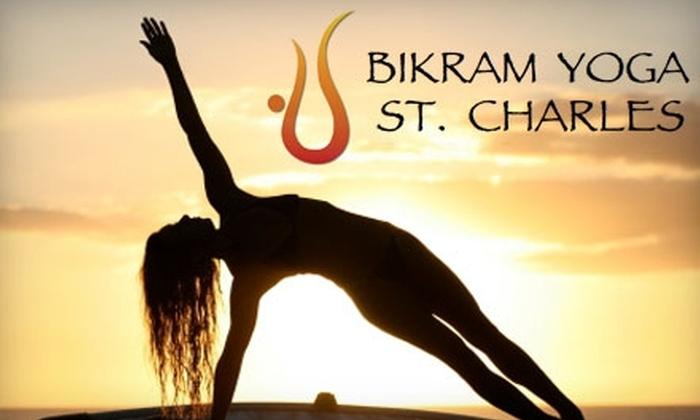 Bikram Yoga St. Charles - St. Charles: $49 for Two Months of Unlimited Yoga Classes at Bikram Yoga St. Charles ($249 Value)