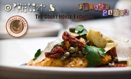 Ophelia's Restaurant & Inn at 201 N Main St.: $30 Groupon for Dinner - McClain Restaurant Group in Independence