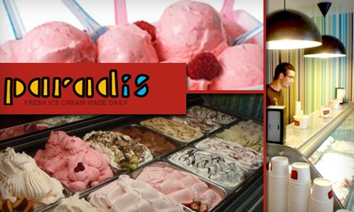 Paradis - Montrose Verdugo City: $4 for $9 Worth of Scandanavian-Style Ice Cream and Sorbet at Paradis