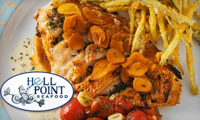Hell Point Seafood - Annapolis: $20 for $40 Worth of Fine Dining and Drinks at Hell Point Seafood in Annapolis