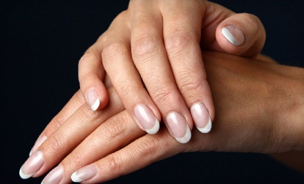 45-Minute Spa Manicure and an Application of Shellac Polish (a $40 value) - Chad Michael Salon in Eugene
