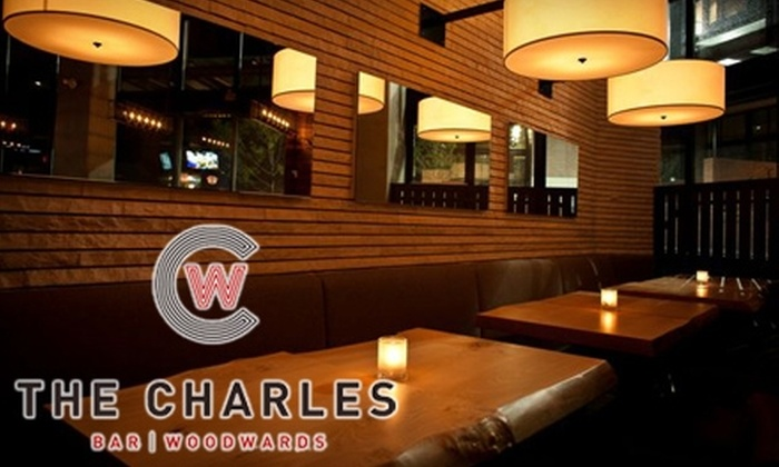 The Charles Bar - Downtown Vancouver: $10 for $20 Worth of Pub Fare & Drinks at The Charles Bar