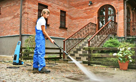 Exterior Process Washing up to 2,000 Square Feet (a $350 value) - All Metro Services in
