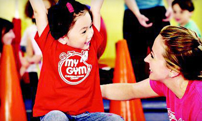 My Gym Children's Fitness Center - Pasadena: $40 for Kids' Membership Package with Classes and Open Play at My Gym Children's Fitness Center ($154 Value)