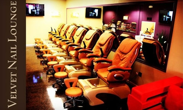 Velvet Nail Lounge - South John R Road: $25 for a Silver Mani-Pedi or $49 for an Age Smart Facial at Velvet Nail Lounge in Troy