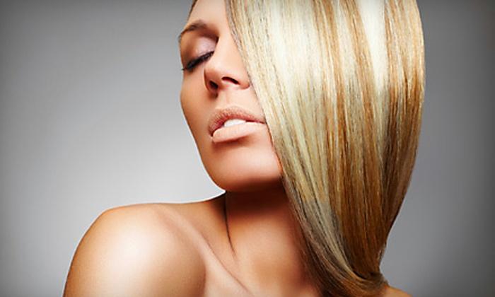 Zumbido Hair and Nail Studio - Echelon at Twenty Mile: One, Two, or Three Pravana Hair-Smoothing Treatments at Zumbido Hair and Nail Studio in Parker
