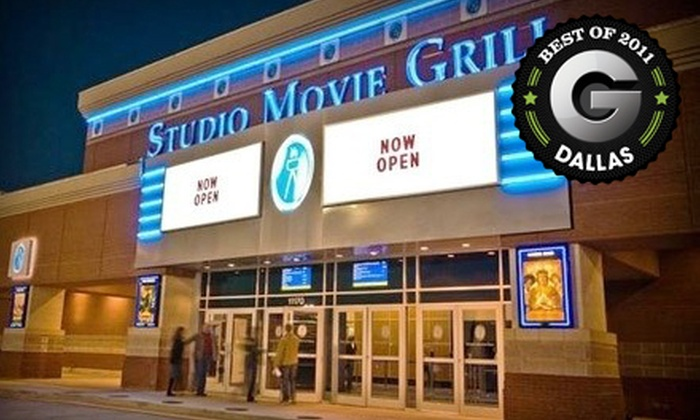 Studio Movie Grill - Multiple Locations: $5 for a Movie Outing with Ticket and Soda at Studio Movie Grill (Up to $12.74 Value)