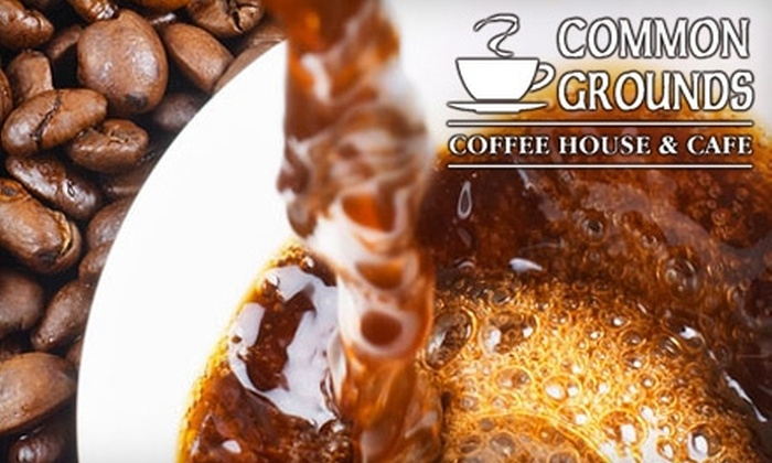 Common Grounds Coffee House - Downtown Lexington: $5 for $10 of Coffee and Baked Goods at Common Grounds Coffee House
