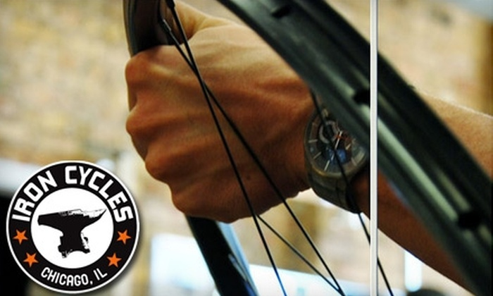 Iron Cycles - Albany Park: $37 for a Pace Line Bicycle Tune-Up at Iron Cycles ($75 Value)