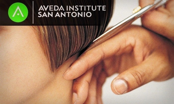 Aveda Institute San Antonio - Tobin Hill: $25 for $50 Worth of Services at Aveda Institute San Antonio