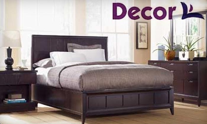 Decor Furniture & Mattress - Brookland: $50 for $200 Worth of Furniture at Decor Furniture & Mattress Showplace