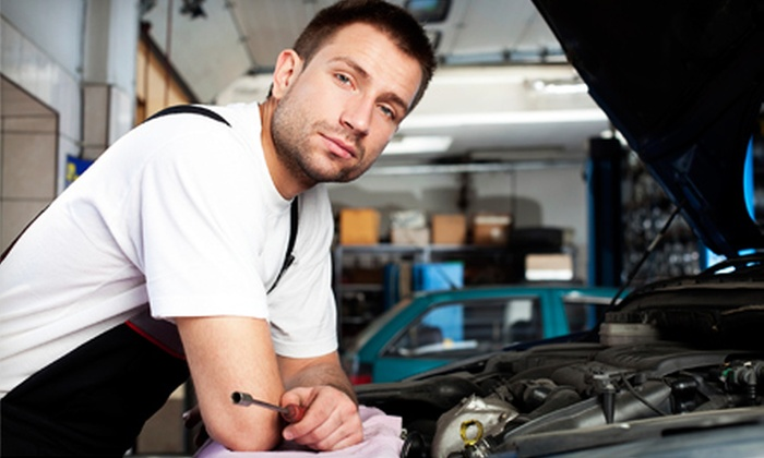 Superior Transmission and Auto Repair - Lake Shore Estates: $12 for Oil Change, Tire Rotation, and 50-Point Inspection at Superior Transmission and Auto Repair ($24.50 Value)