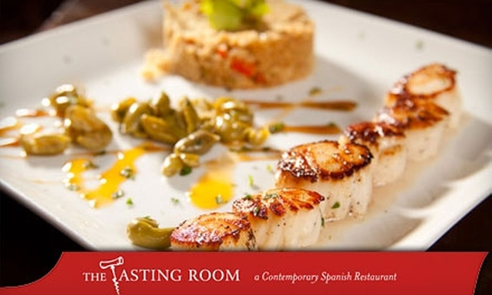 The Tasting Room - Spanish Quarter: $20 for $40 Worth of Spanish Cuisine and Drinks at The Tasting Room