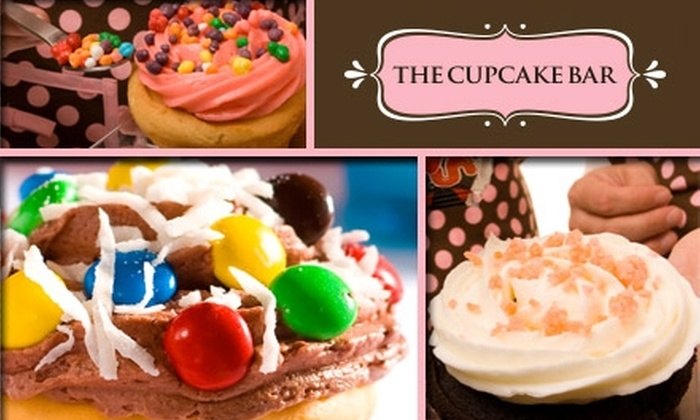 The Cupcake Bar - Austin: $40 for $100 Worth of Customized Cupcake Party with The Cupcake Bar