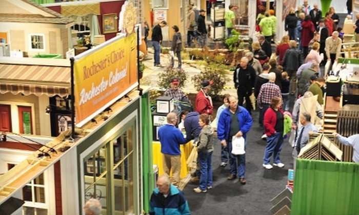 Rochester Home and Garden Show - Central Business District: $3 for One Ticket to Rochester Home and Garden Show ($8 Value)