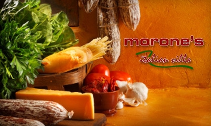Morone's Italian Villa - The Gables: $10 for $20 Worth of Italian Fare and Drinks at Morone's Italian Villa