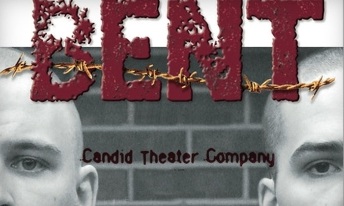 """$7 Ticket to """"Bent"""" by the Candid Theater Company (Up to $15 Value) Choose from 8 Dates."""