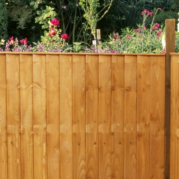 Vertical Feather Edge Fence Panel