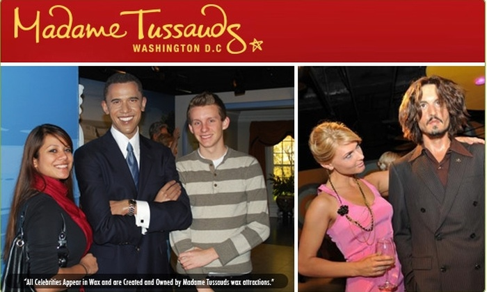 Madame Tussauds DC - Downtown - Penn Quarter - Chinatown: $10 Tickets to Madame Tussauds Interactive Wax Attraction