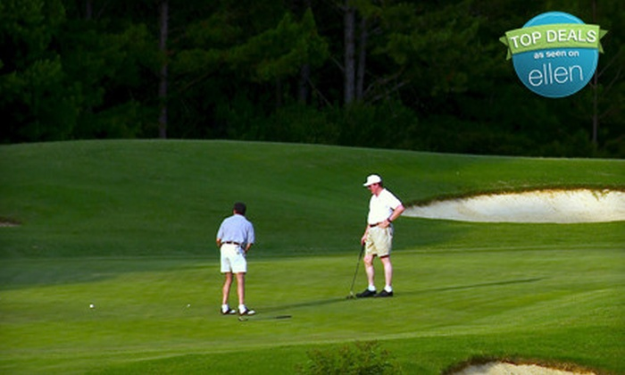 Meadow Links - Fort Gaines: $37 for a Golf Outing for Two with Cart Rental and Driving-Range Balls at Meadow Links in Fort Gaines (Up to $74 Value)
