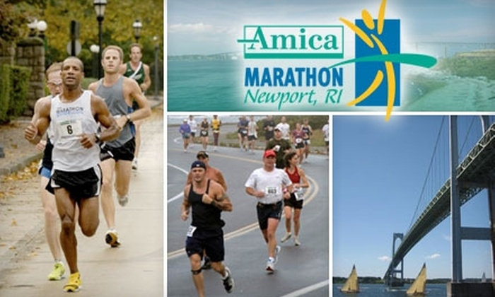 Amica Marathon - Multiple Locations: $47 for Full Amica Marathon Registration or Half Off Three Additional Races on October 16 or October 17