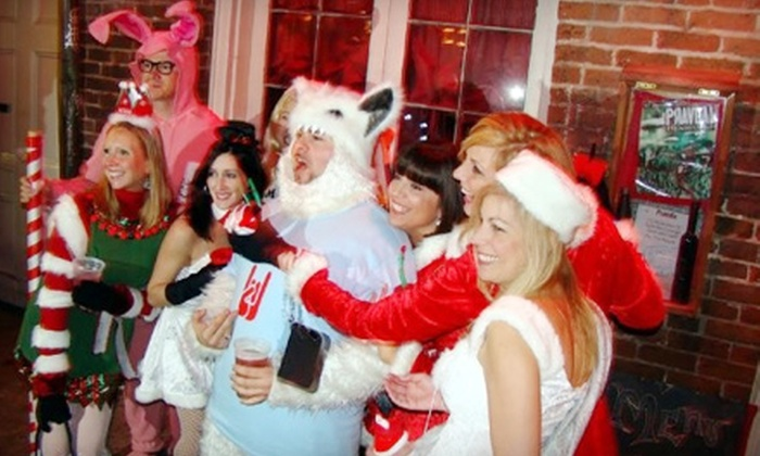 Krewe of Kringle - Spitfire Bar : $29 for Admission for Two to Santa Pub Crawl from Krewe of Kringle on Saturday, December 10, at 7 p.m. (Up to $70 Value)