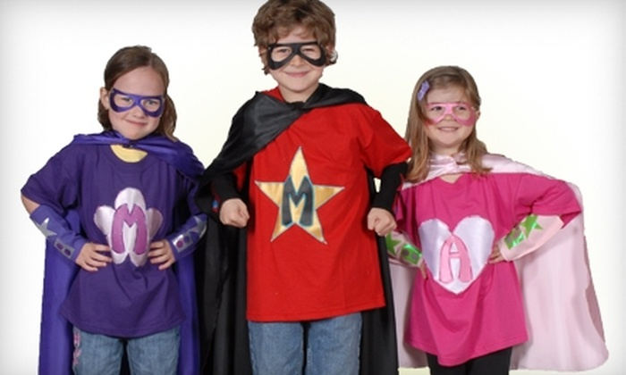 Powercapes and Costume Tutus: $15 for $30 Worth of Custom Superhero Capes, Tutus, and Accessories from Powercapes and Costume Tutus