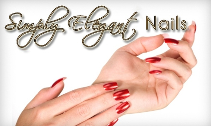 Simply Elegant Nails - Woodward Park: $30 for Hot-Oil Manicure and Salt-Glow Pedicure at Simply Elegant Nails ($70 Value)