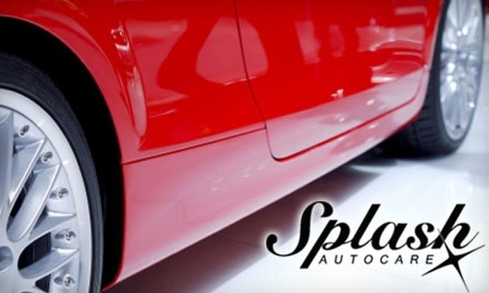 Splash Autocare - Glen Cairn - Kanata South Business Park: $39 for a Silver-Package Detailing Service at Splash Autocare (Up to $79.95 Value)