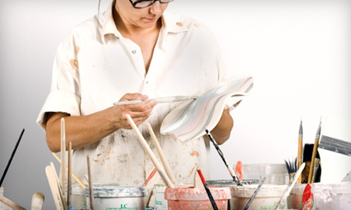 Vino2VanGogh - Flour Bluff: $19 for a Three-Hour BYOB Painting Class at Vino2VanGogh (Up to $40 Value)