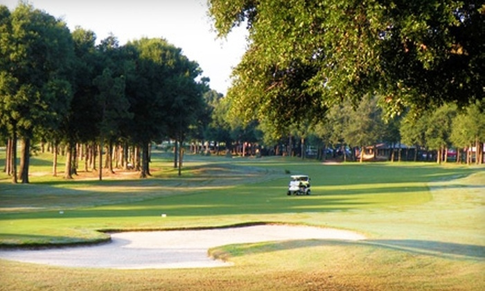 Marcus Pointe Golf Club - Marcus Pointe: Round of Golf for Two Plus Cart Rental at Marcus Pointe Golf Club. Two Options Available.