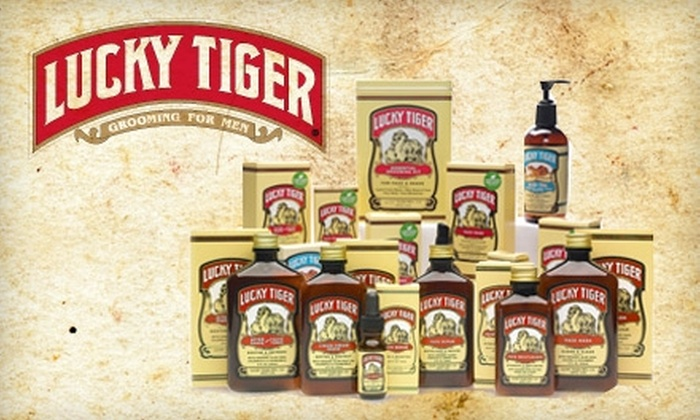 Lucky Tiger: $20 for $40 Worth of Men's Grooming Products from Lucky Tiger