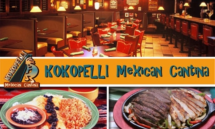 Kokopelli Mexican Cantina - Prairie Village: $10 for $20 Worth of Mexican Fare and Drinks at Kokopelli Mexican Cantina
