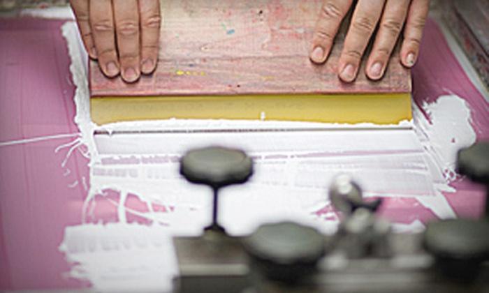 Marqué Press - Central Waterfront: Custom Screen-Printed Shirts at Marqué Press (Half Off)