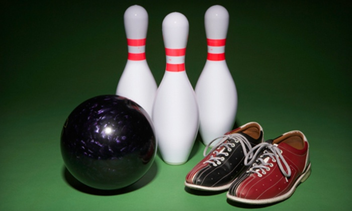 Spin-A-Pin Lanes - Springfield: Two Games, Shoe Rentals, and Pizza for Two, Four, or Six at Spin-A-Pin Lanes in Springfield
