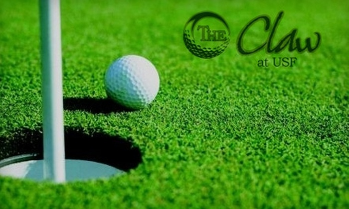 The Claw at University of South Florida - Tampa: $18 or $27 for 18 Holes of Golf, Cart Rental, and a Hot Dog at The Claw at University of South Florida