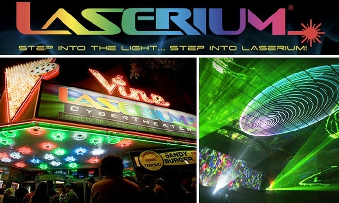 Laserium - Hollywood: $5 Classic Rock Laser Show Tickets at Laserium