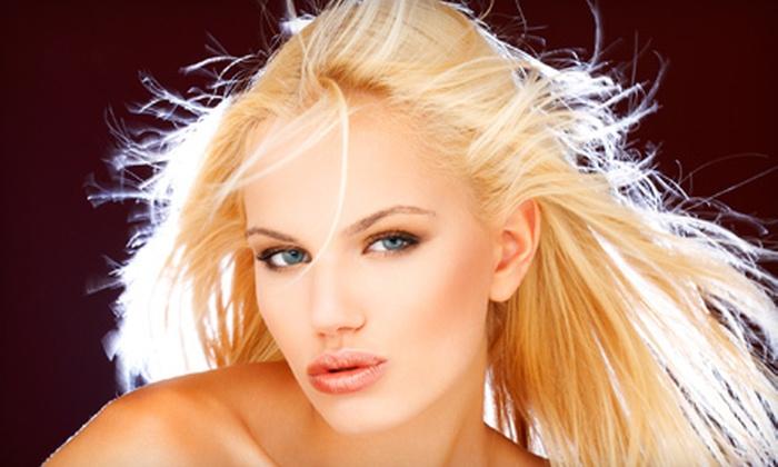 Touché Salon - Lexington: Haircut with Partial Highlights or Brazilian Blowout at Touché Salon (Up to 72% Off)