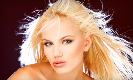Deep-Conditioning Treatment, Haircut, and Partial Highlights - Touche Salon in Lexington