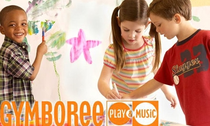 Gymboree Play & Music - Multiple Locations: $45 for a One-Month Membership and One Weekly 45-Minute Class at Gymboree Play & Music